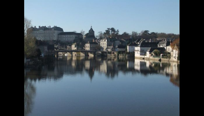 The lovely town of Sablé-sur-Sarthe