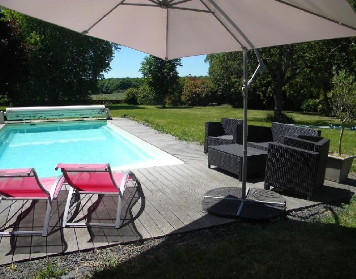 village house with swimming-pool in the west of France - Pays de la Loire Area