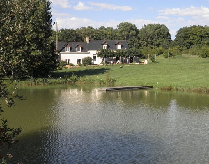 country property for horsing fishing or hunting in the Pays de la Loire (France)