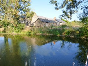 france-country property with pond and great outbuildings for sale
