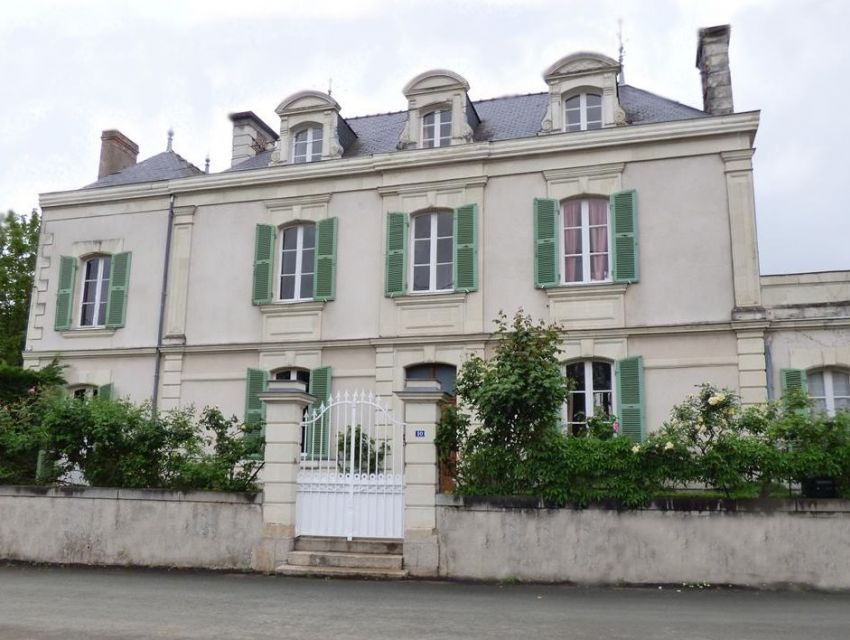 authentic village mansion XVIIIth century in the Anjou area - west of France.