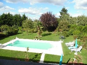 country property south Normandy Pays de Loire Heated pool. for sale