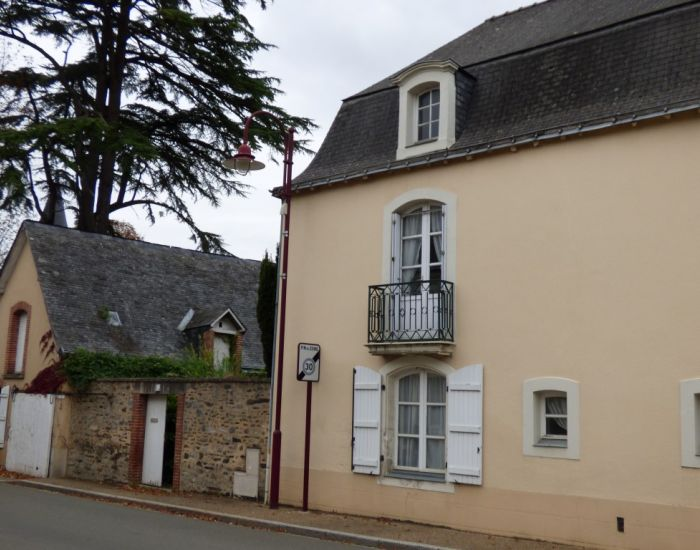 Character village house in the Anjou Area (Pays de la Loire)