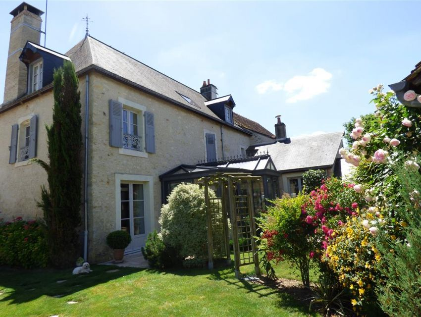 Authentic village house with charm and character South of Normandy